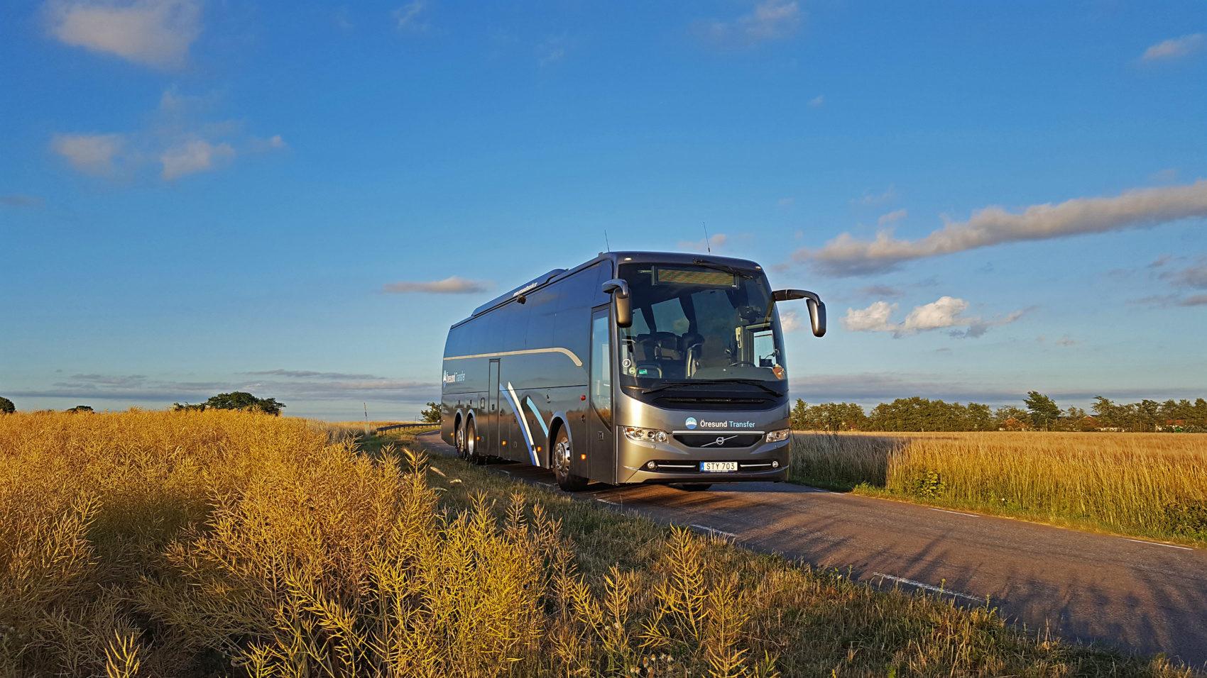 Hyra buss i Malmö, Lund, Helsingborg, Skåne